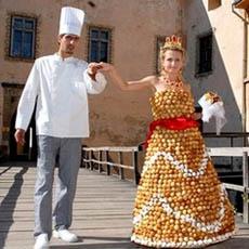 Outrageous Wedding Dresses ( Photos ). (6/6)