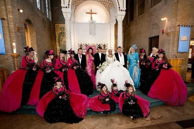 Outrageous Wedding Dresses Photos