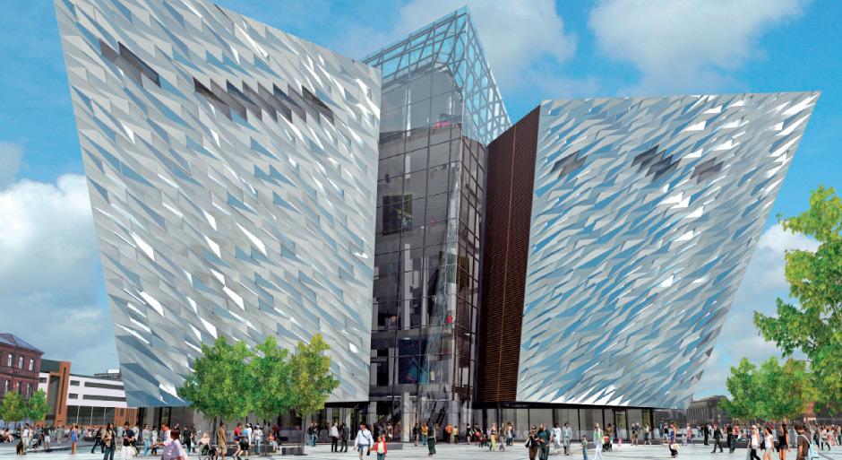Titanic Quarter Building, Belfast (1/4)