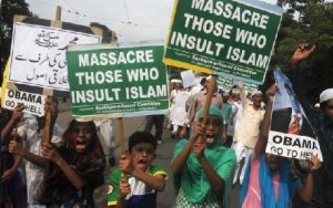 Islam - massacre those who ...